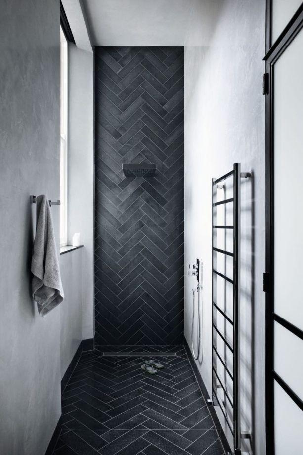 Modern Monochrome Bathroom Ideas: Black & White Bathroom ... on Monochromatic Bathroom Ideas  id=44468