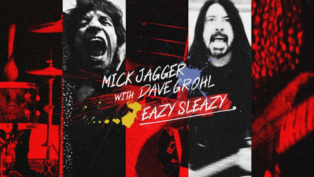 Mick Jagger and Dave Grohl rail against anti-vaxxers and conspiracy theorists on sardonic Eazy Sleazy single