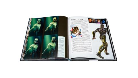the shape of water book spread