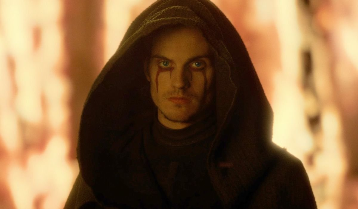 Daniel Sharman as the Weeping Monk in Cursed