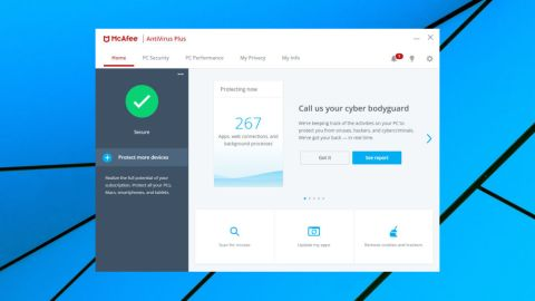 McAfee AntiVirus Plus review | TechRadar