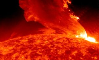 Sun Whips Out Massive Flare