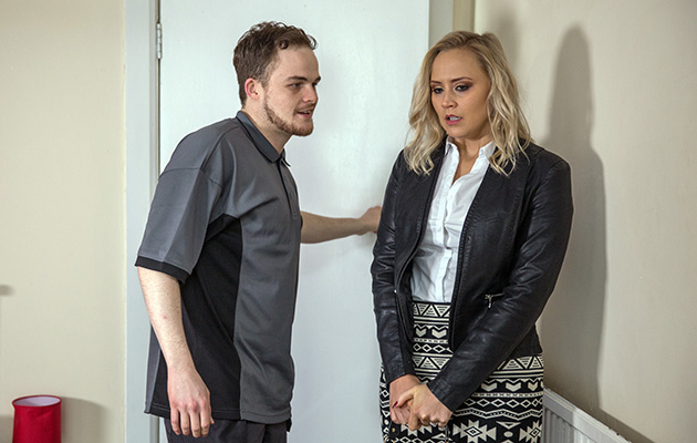Tracy is blackmailed by Phil – but will David save the day?