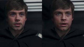 Star Wars Luke Skywalker deepfake