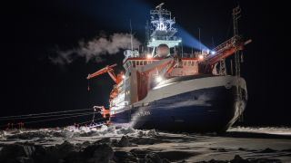 Precautions have prevented coronavirus reaching the German icebreaker Polarstern, drifting with Arctic sea ice near the North Pole.