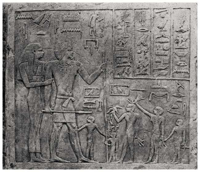 Egypt human sacrifice.