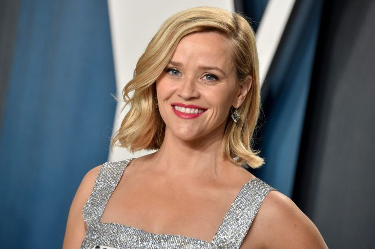 reese witherspoon on the red carpet in 2020 - side bangs hairstyles
