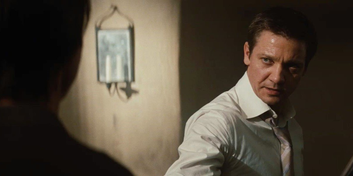 Jeremy Renner in Mission: Impossible - Ghost Protocol