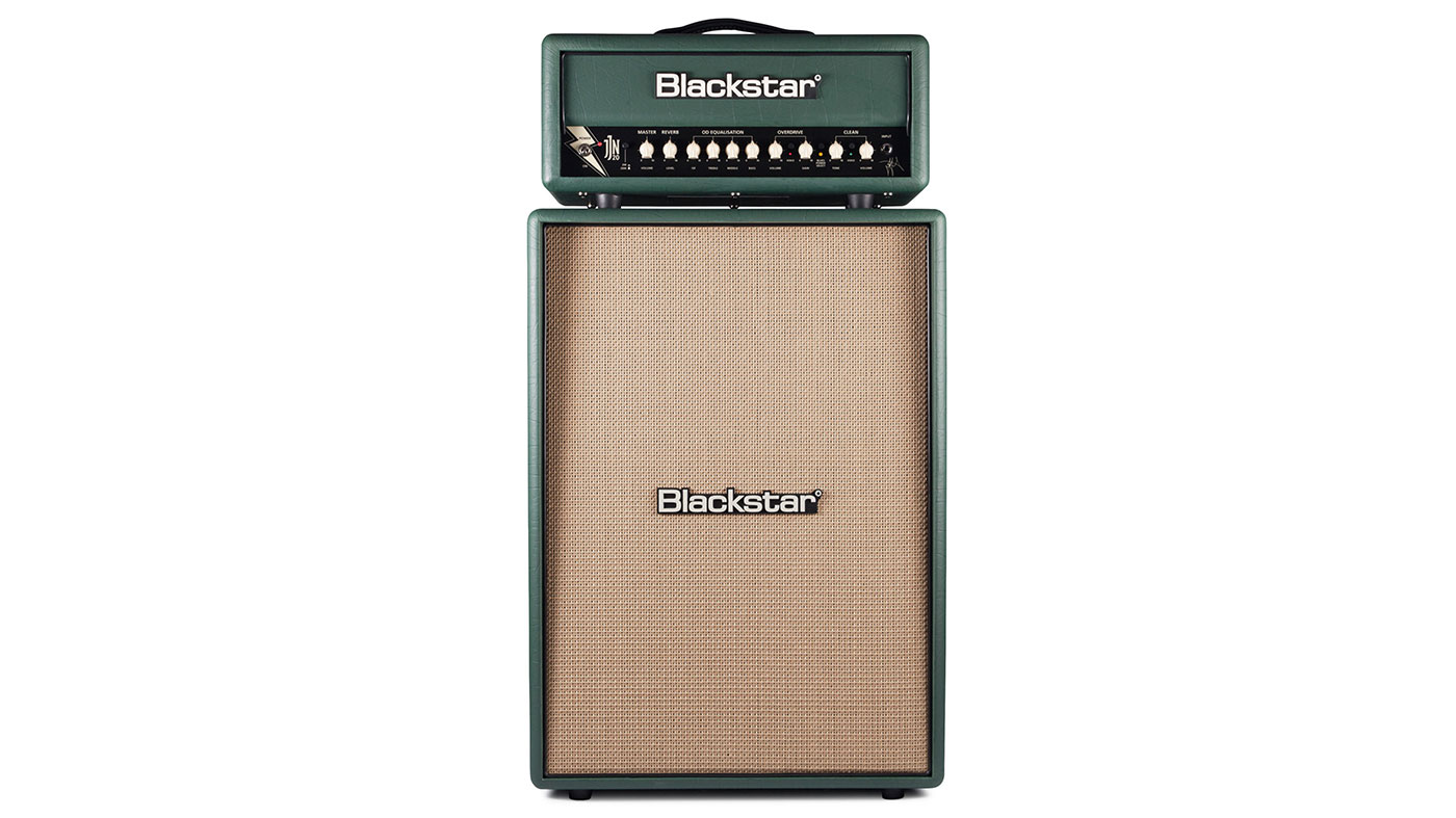 NAMM 2019: Blackstar unveils JJN-20R Jared James Nichols signature head and cab