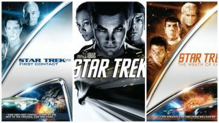"The ""Star Trek"" universe spans multiple movie franchises."