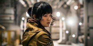 Kelly Marie Tran as Rose Tico in Star Wars: The Last Jedi