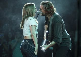 Lady Gaga and Bradley Cooper light up the stage