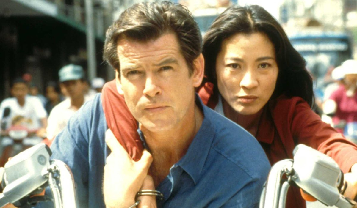 Tomorrow Never Dies Pierce Brosnan and Michelle Yeoh