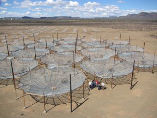 HERA radio telescope construction