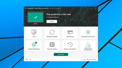 Kaspersky Small Office Security 6 review | TechRadar