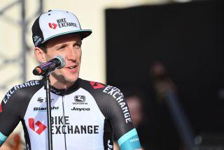 Simon Yates at the 2021 Giro d'Italia team presentation