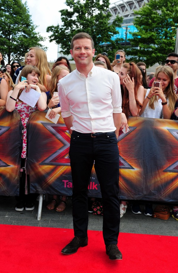 Dermot O'Leary at X Factor auditions in 2014