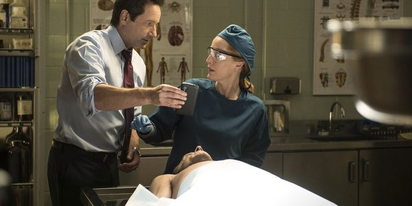 the x files season 10 mulder scully morgue