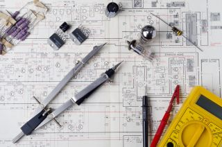 Electronic schematics, electrical engineering