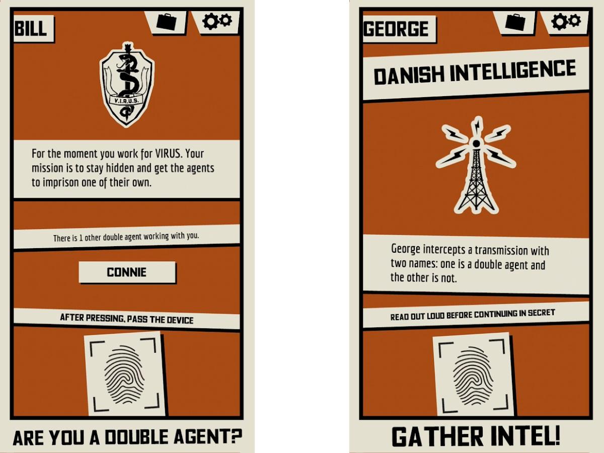 best party apps: Triple Agent