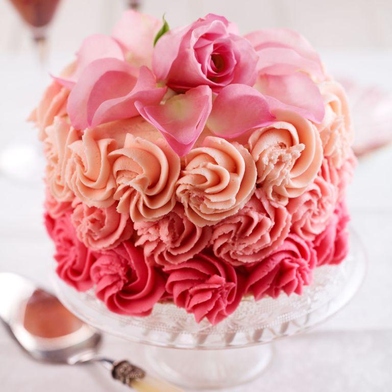 Rose-cake-recipe-baking-photo