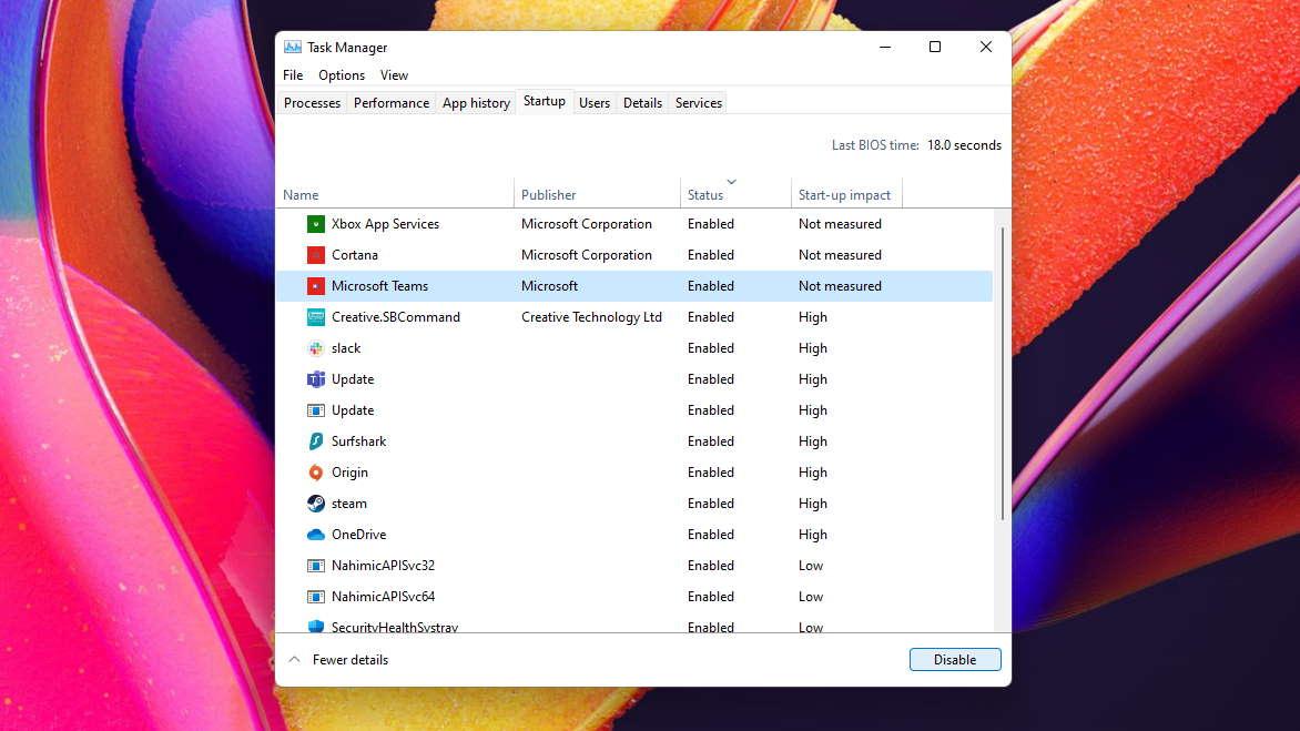 Windows 11 optimise