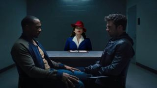 Sam and Bucky have a meeting with Agent Carter.