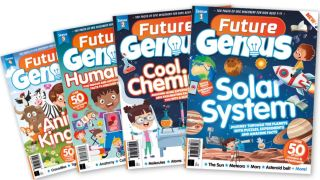Future Genius is a new magazine that's designed to encourage and maintain inquisitive minds