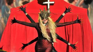 In This Moment's Maria Brink performing live