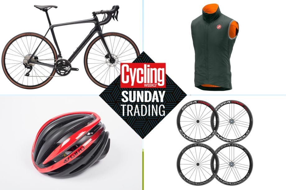 Sunday trading: Save £300 on a carbon fibre Cannondale Synapse plus deals on Giro and Castelli kit