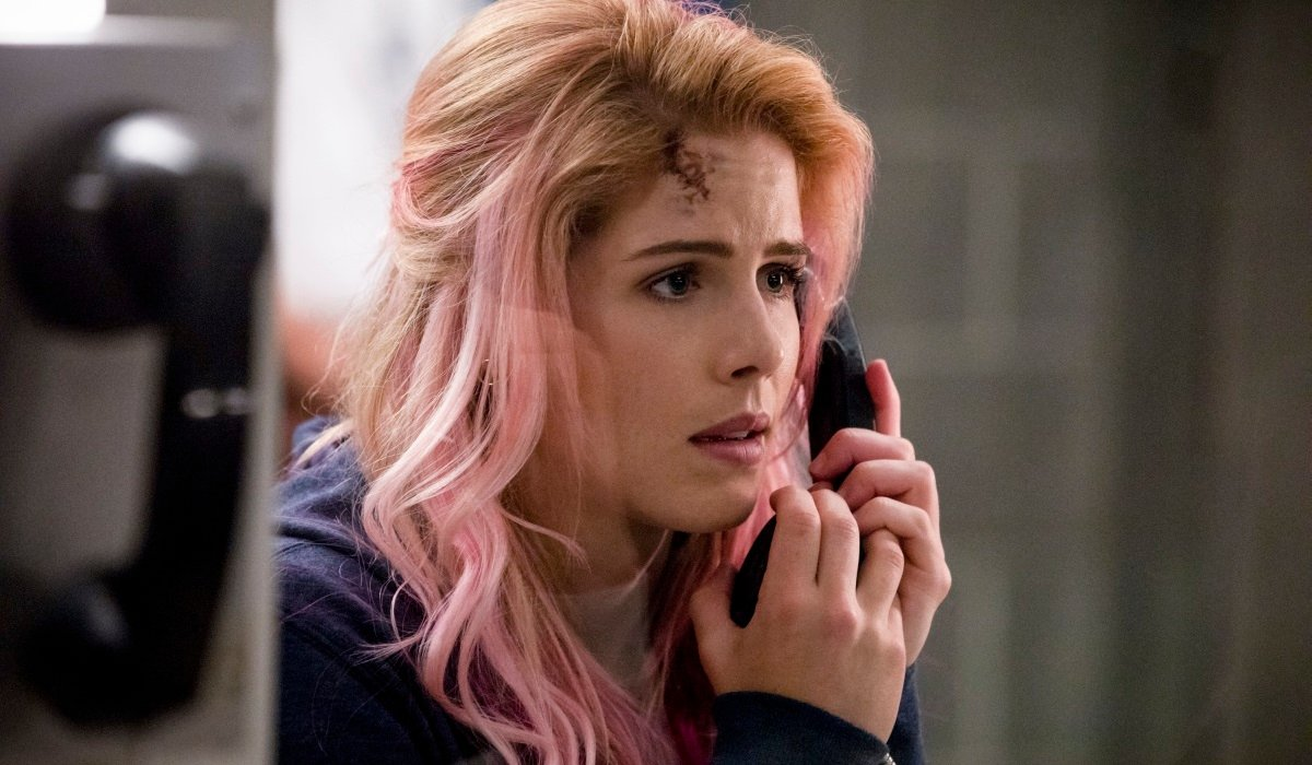felicity pink hair