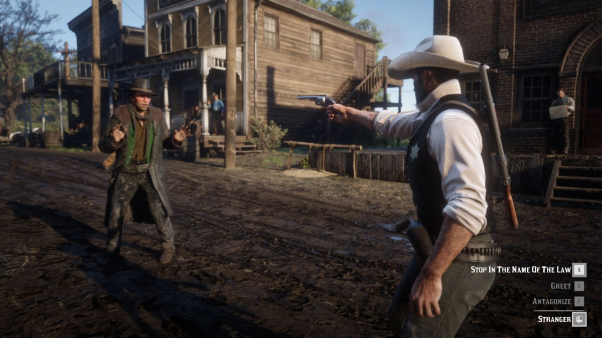 Red Dead Redemption 2 lawman mod lets you leave behind your life of crime