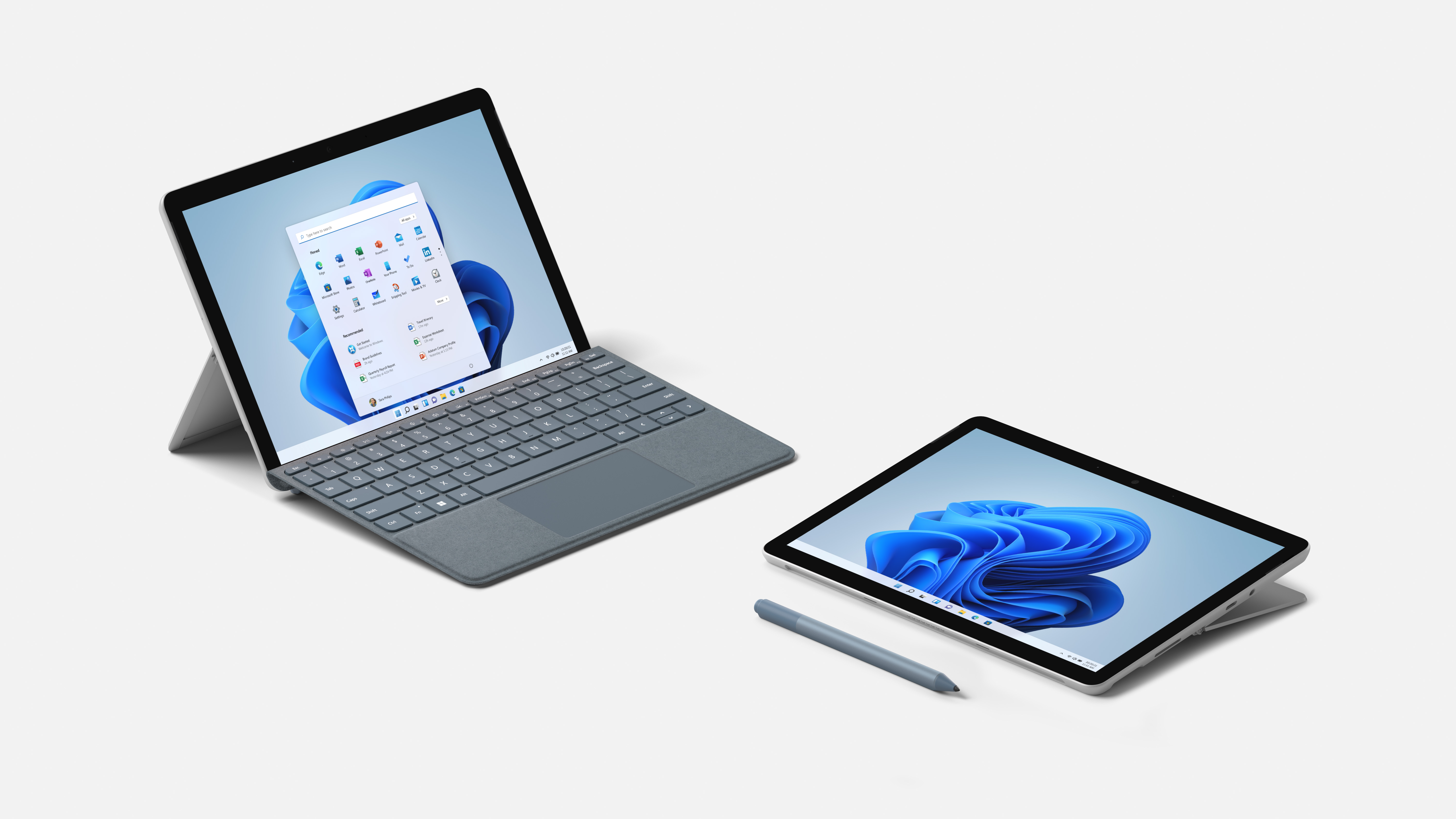 Press images of Surface Go 3 tablet