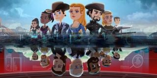 Characters from Westworld Mobile.