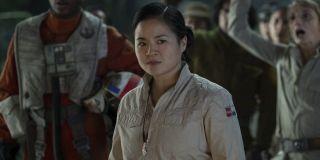 Kelly Marie Tran as Rose Tico in Star Wars: Rise of Skywalker