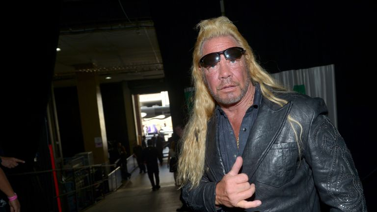 TV personality Dog the Bounty Hunter attends the 48th Annual Academy of Country Music Awards at the MGM Grand Garden Arena on April 7, 2013 in Las Vegas, Nevada
