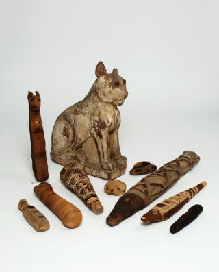 animal mummies