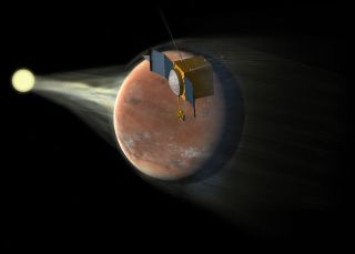 Maven Studies Mars Atmosphere