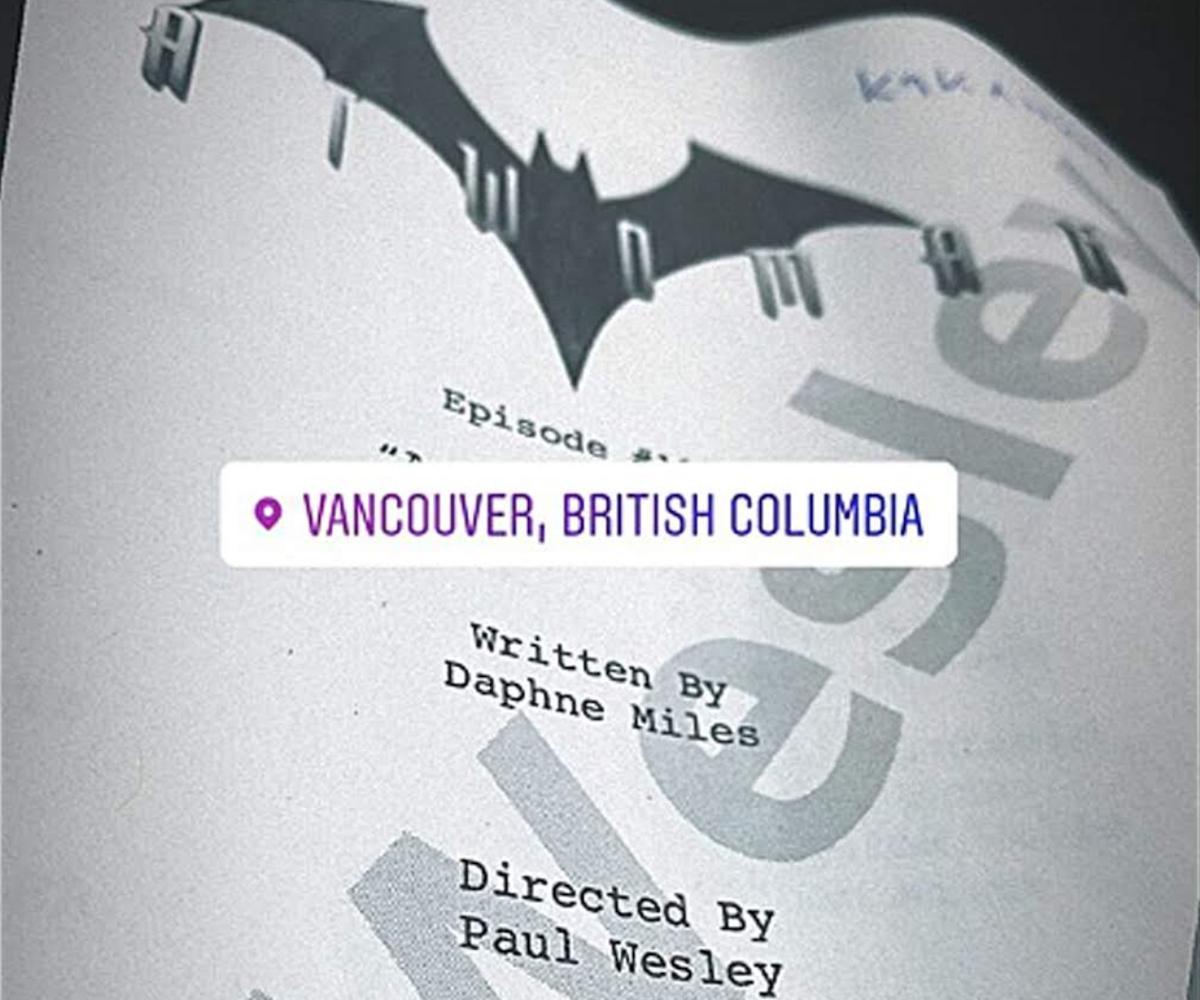 paul wesley batwoman script cover