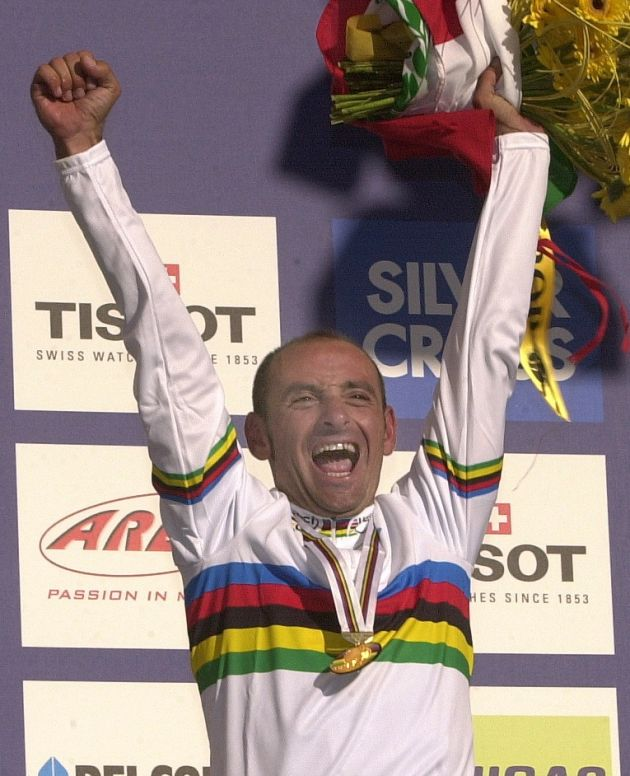 Paolo Bettini world champion