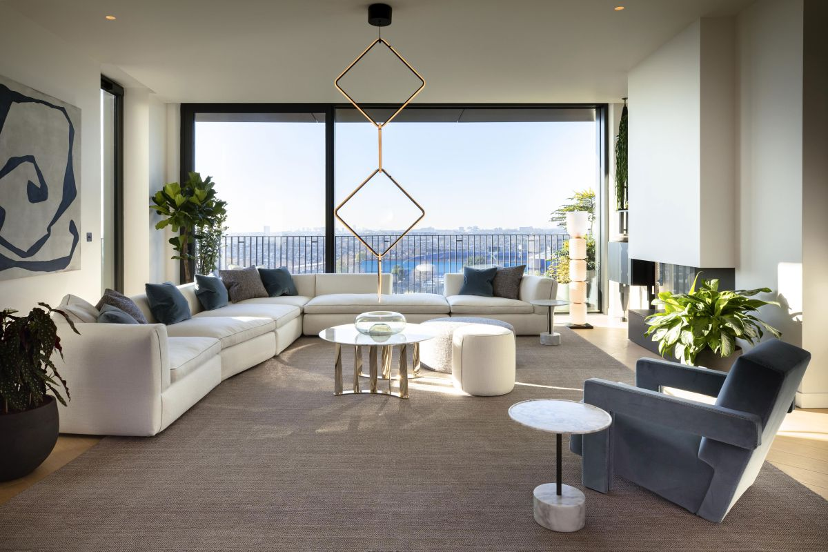 Inside an uber-chic Italian designed apartment in London's iconic Television Centre