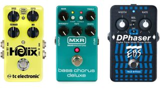 How to use modulation pedals on bass