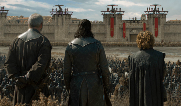 Game of Thrones Davos Seaworth Liam Cunningham Jon Snow Kit Harington Tyrion Lannister HBO