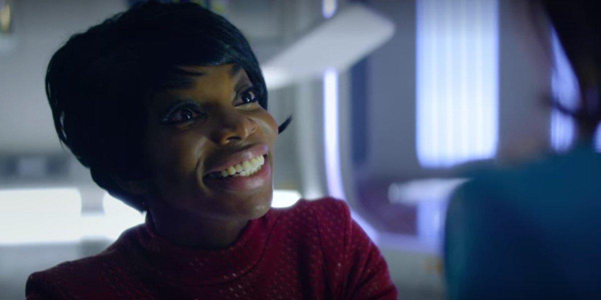 Michaela Coel in U.S.S Callister Black Mirror episode