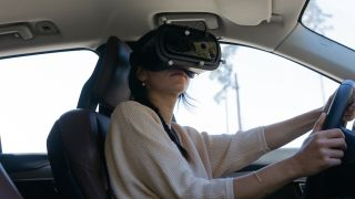 Spearheaded by Casper Wickman, Volvo has been evaluating new car designs by driving with a mixed-reality headset from Varjo.