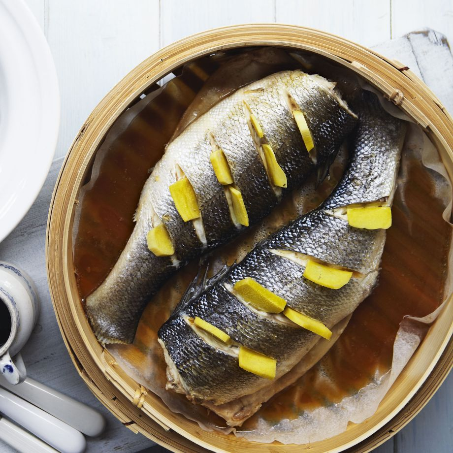 Steamed Sea Bass with Ginger Recipe Steamed Sea Bass with Ginger Recipe new picture