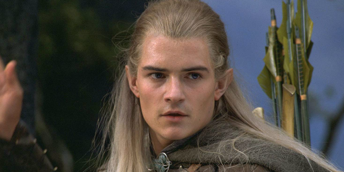 Lord of the Rings The Fellowship of the Ring Legolas Orlando Bloom