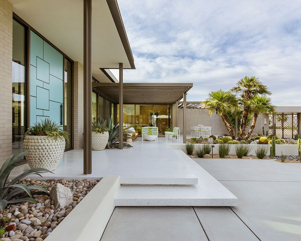 Design house: Mid-century modern home near Palm Springs, designed by Stuart Silk Architects
