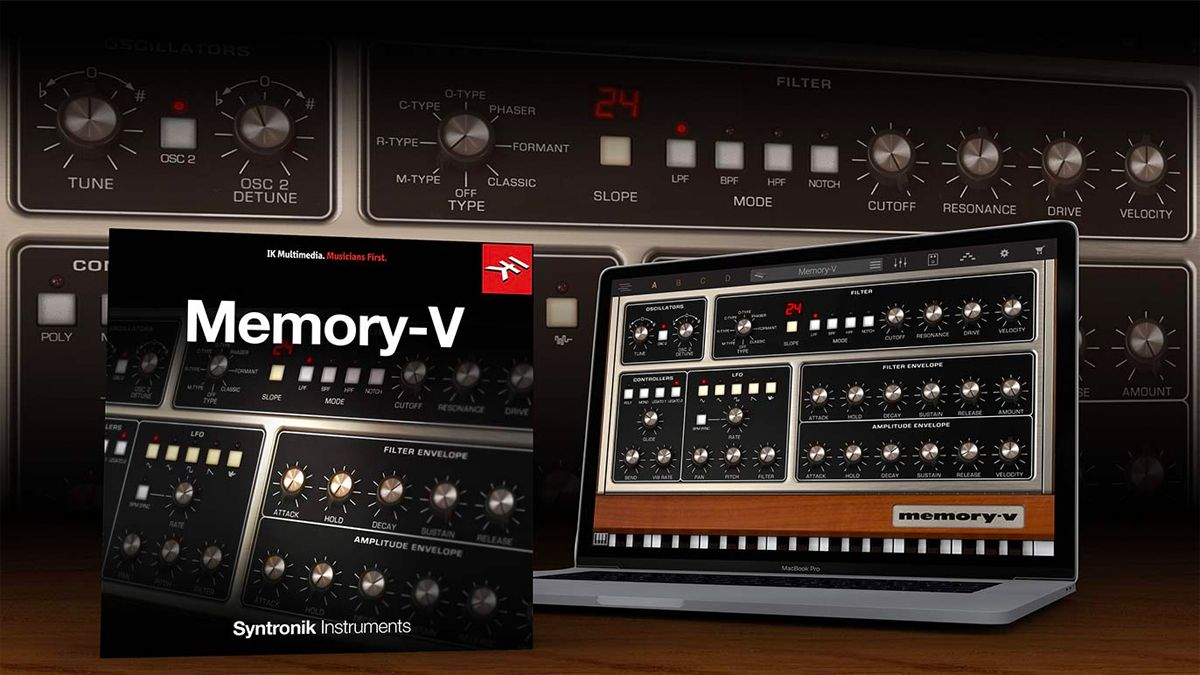 IK Multimedia is giving you another chance to download Memory-V, its Moog Memorymoog soft synth emulation, for free