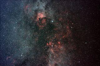 Northern constellation Cygnus by Josh Knutson